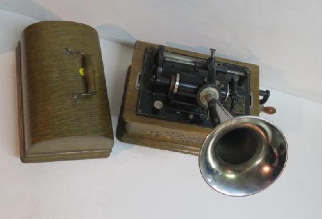 EDISON STANDARD PHONOGRAPH CYLINDER MACHINE CA1910 - 4