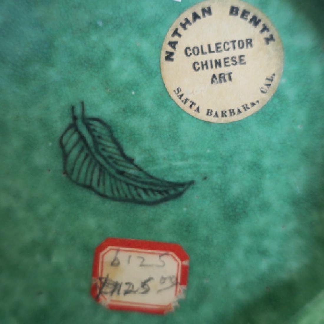 Kangxi Period (1662-1722) Green Chinese Vase: - 3
