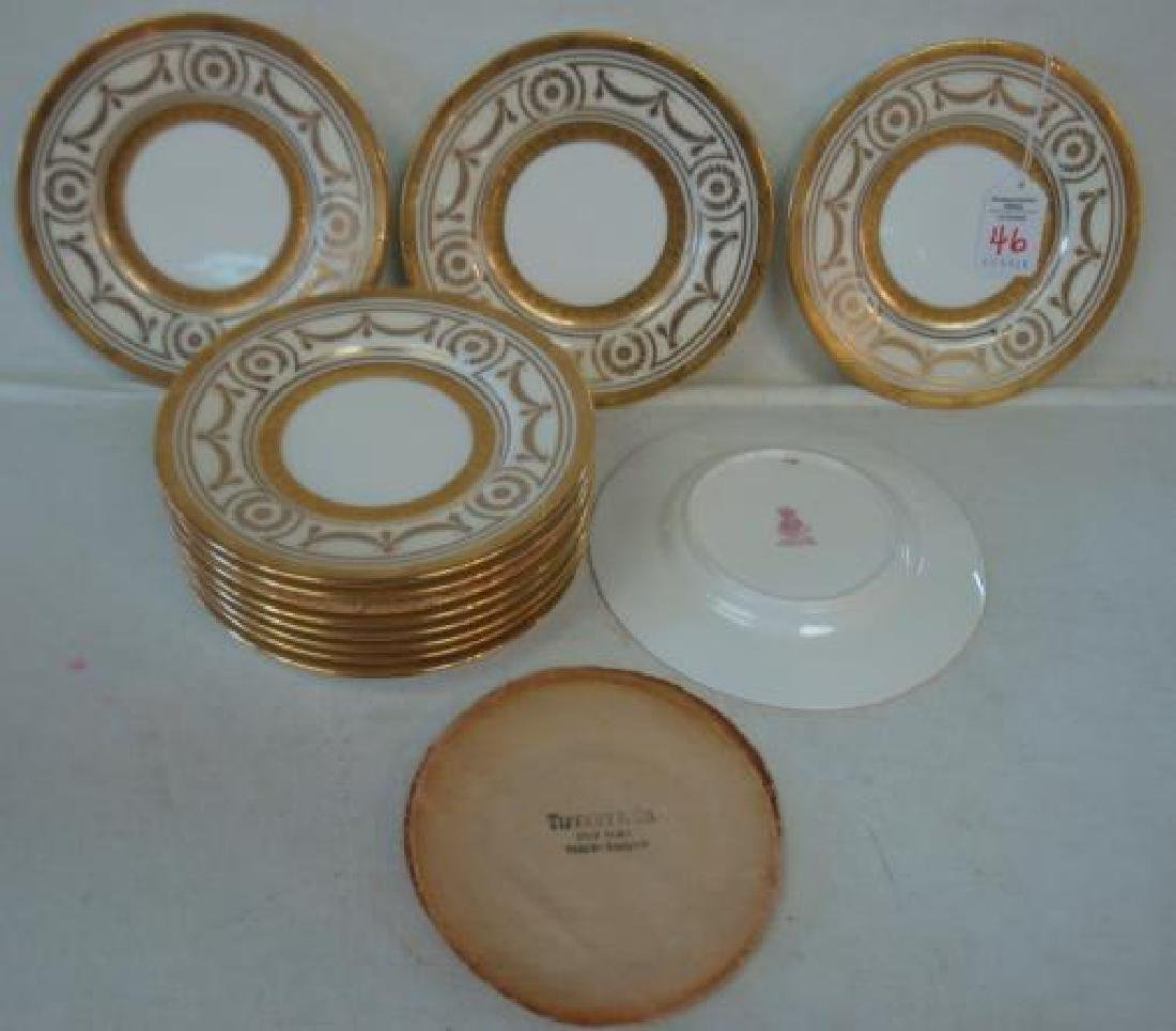 Twelve MINTONS for TIFFANY & CO. Bread Plates: