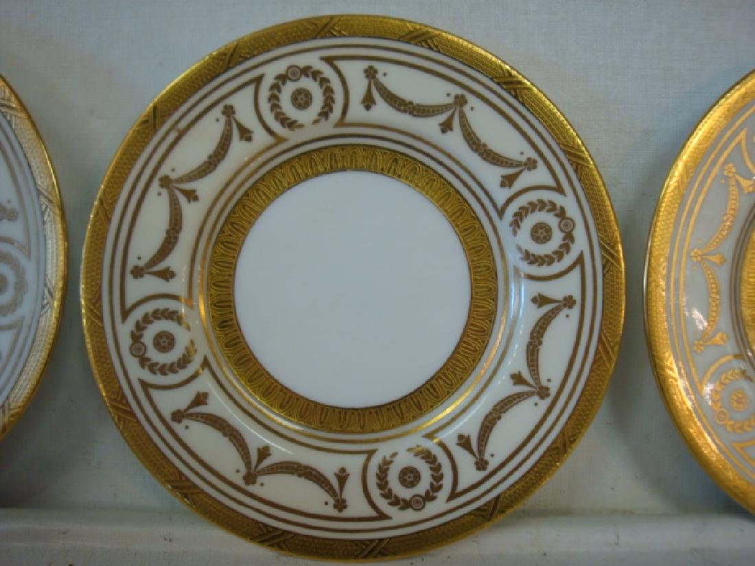 Twelve MINTONS for TIFFANY & CO. Bread Plates: - 2
