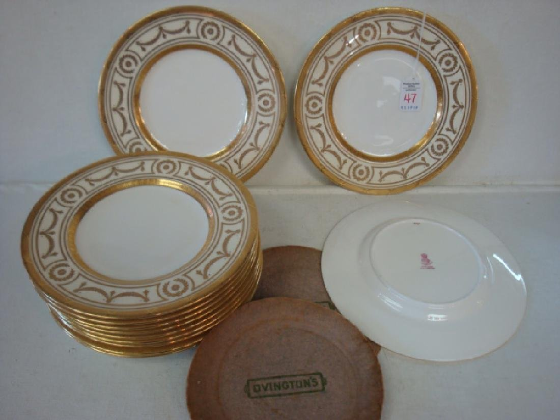 12 MINTONS for TIFFANY & CO. Luncheon or Salad Plates: