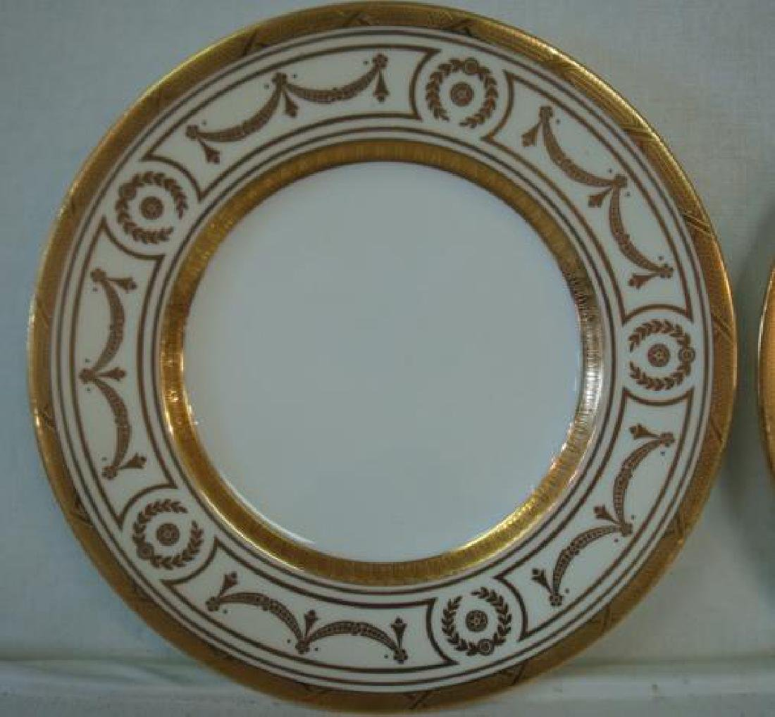 12 MINTONS for TIFFANY & CO. Luncheon or Salad Plates: - 2