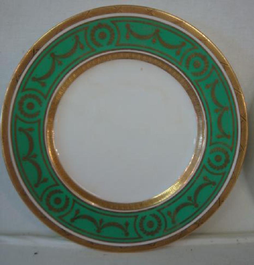 Twelve MINTONS for TIFFANY & CO. Dinner Plates: - 2
