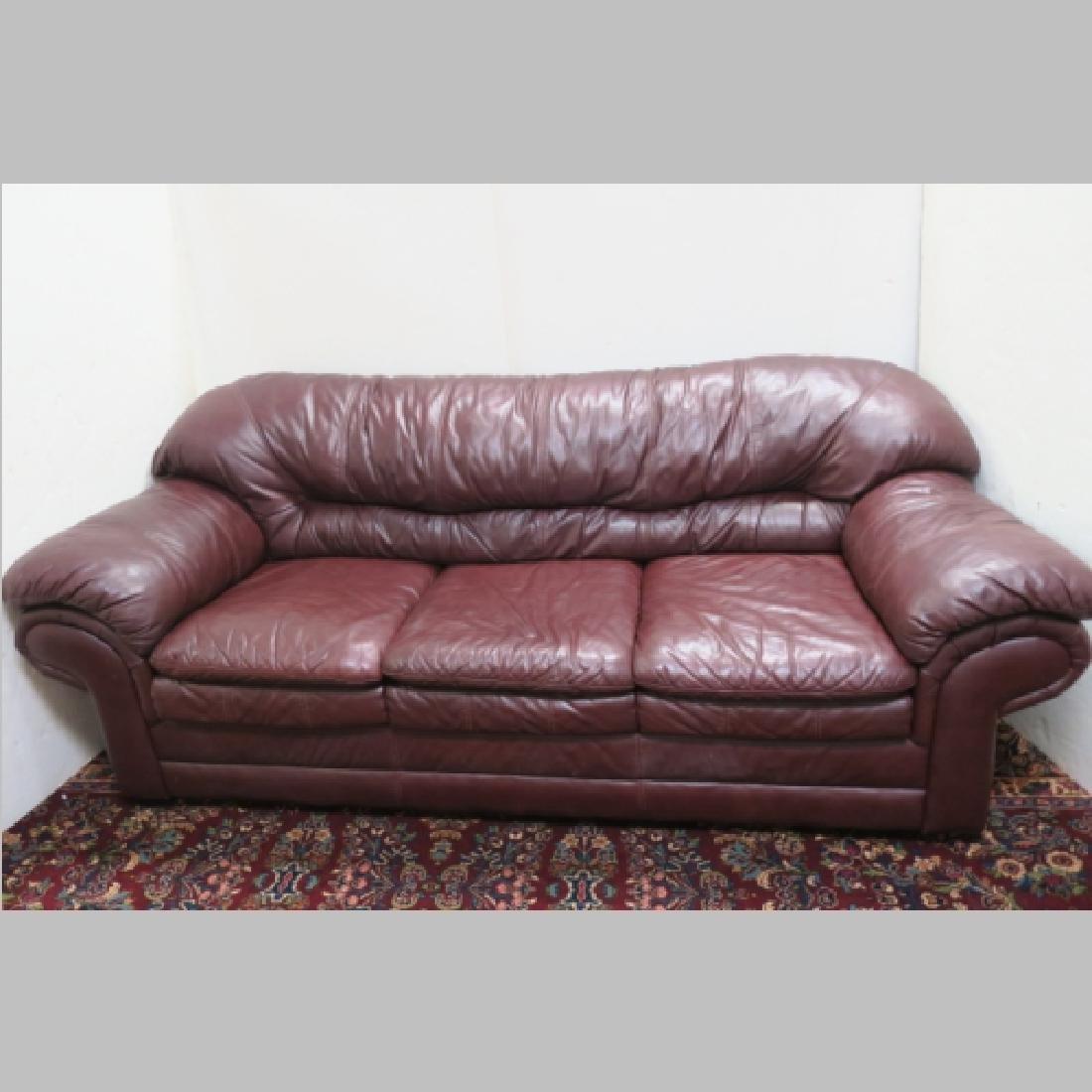 TOSCANA SAV PORTO Leather Sofa: