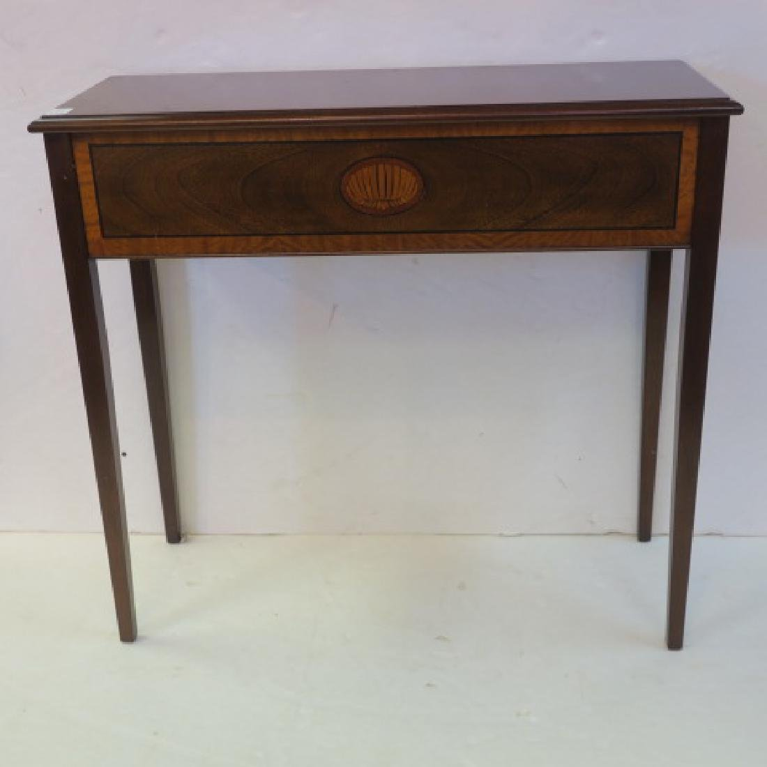 Petite Traditional Console Table: