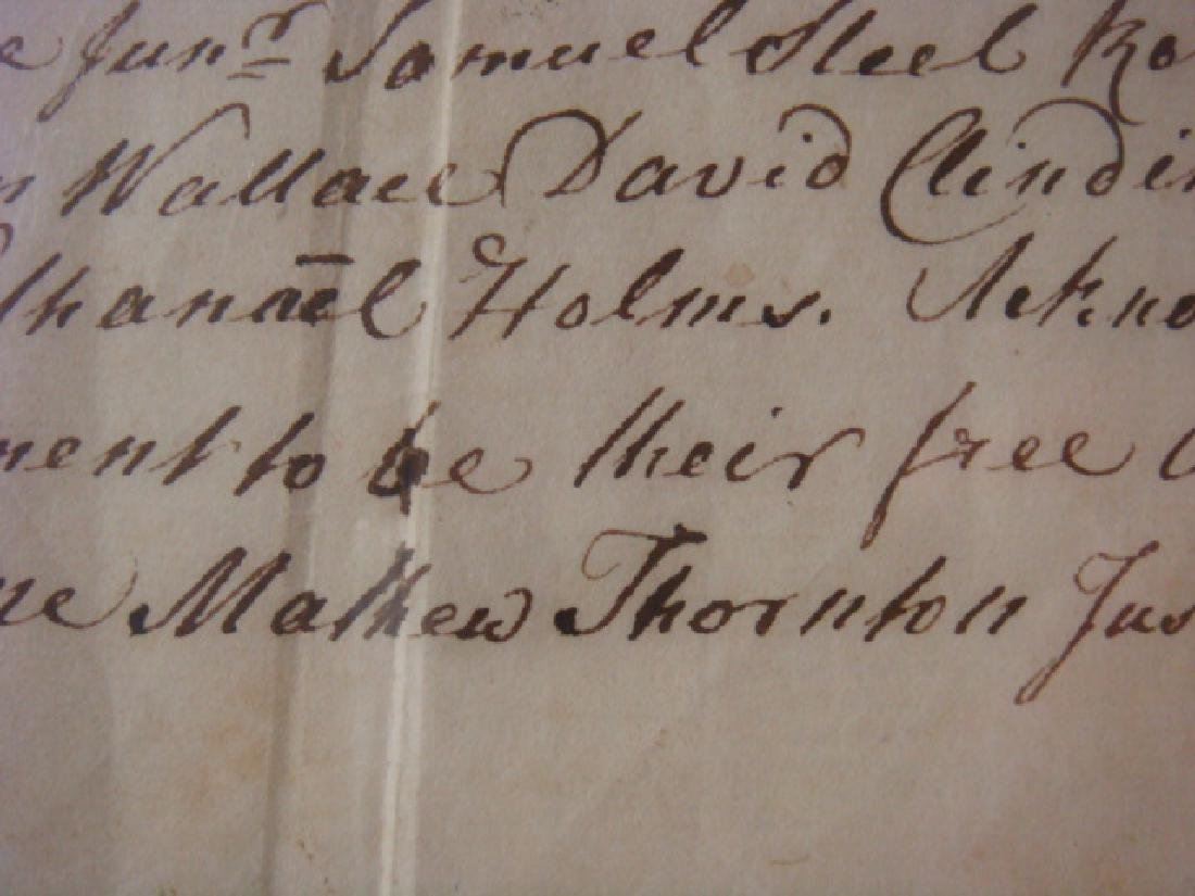 MATTHEW THORNTON, Signer, Declaration of Independence - 2