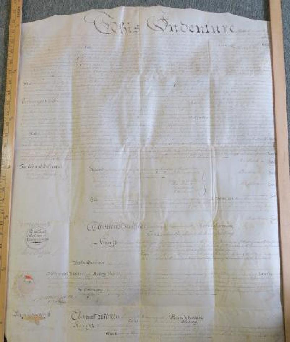 PENNSYLVANIA LAND GRANT, JOHN NICHOLSON, 1795: