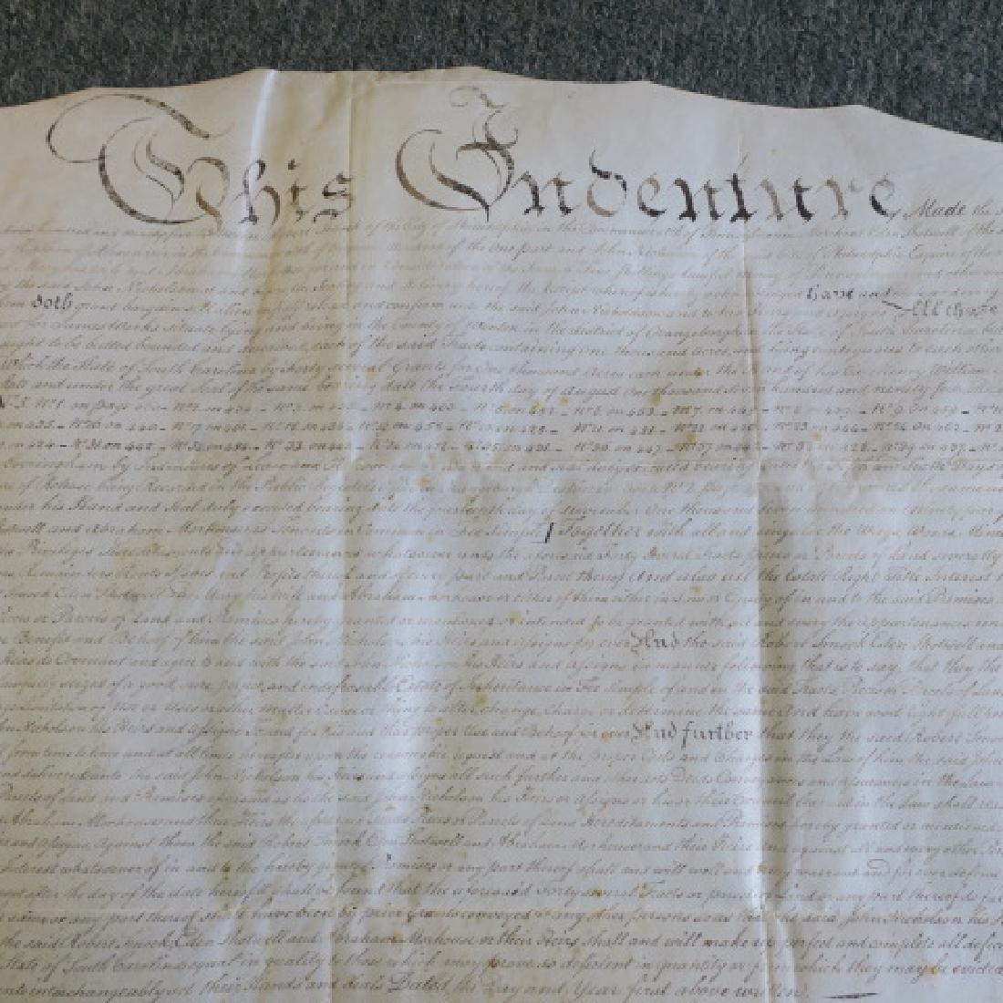 PENNSYLVANIA LAND GRANT, JOHN NICHOLSON, 1795: - 4