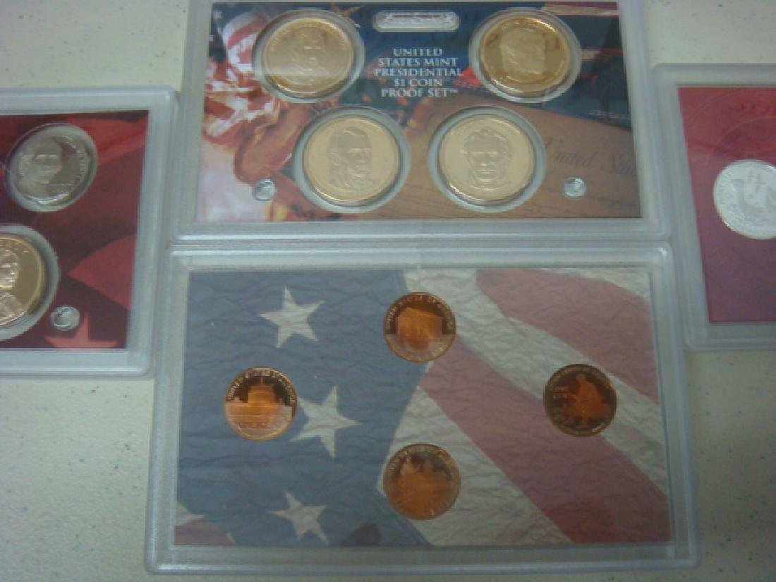 2005S-2009S US MINT SILVER PROOF SETS (5): - 2