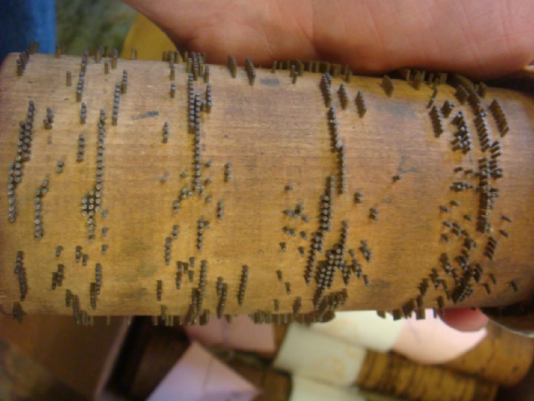 Twelve Large Wooded Music Cobbs CA 1990: - 2