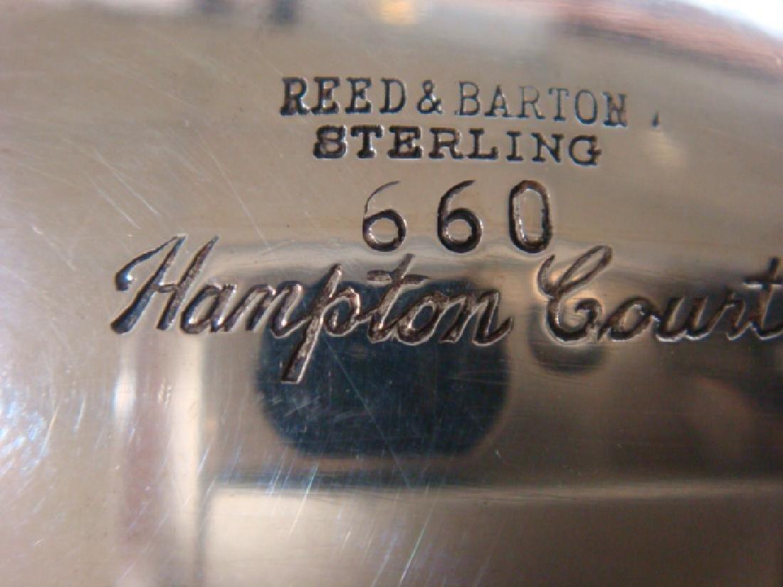 "Sterling Silver Reed & Barton ""Hampton Court"" Tea Set: - 3"