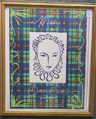 VA Opera Poster Thea Musgrave Mary Queen of Scots: