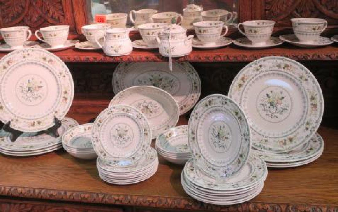 "ROYAL DOULTON ""Provencal"" Dinnerware for Eight:"