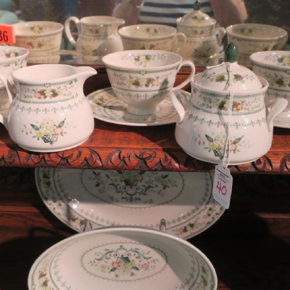 "ROYAL DOULTON ""Provencal"" Dinnerware for Eight: - 2"