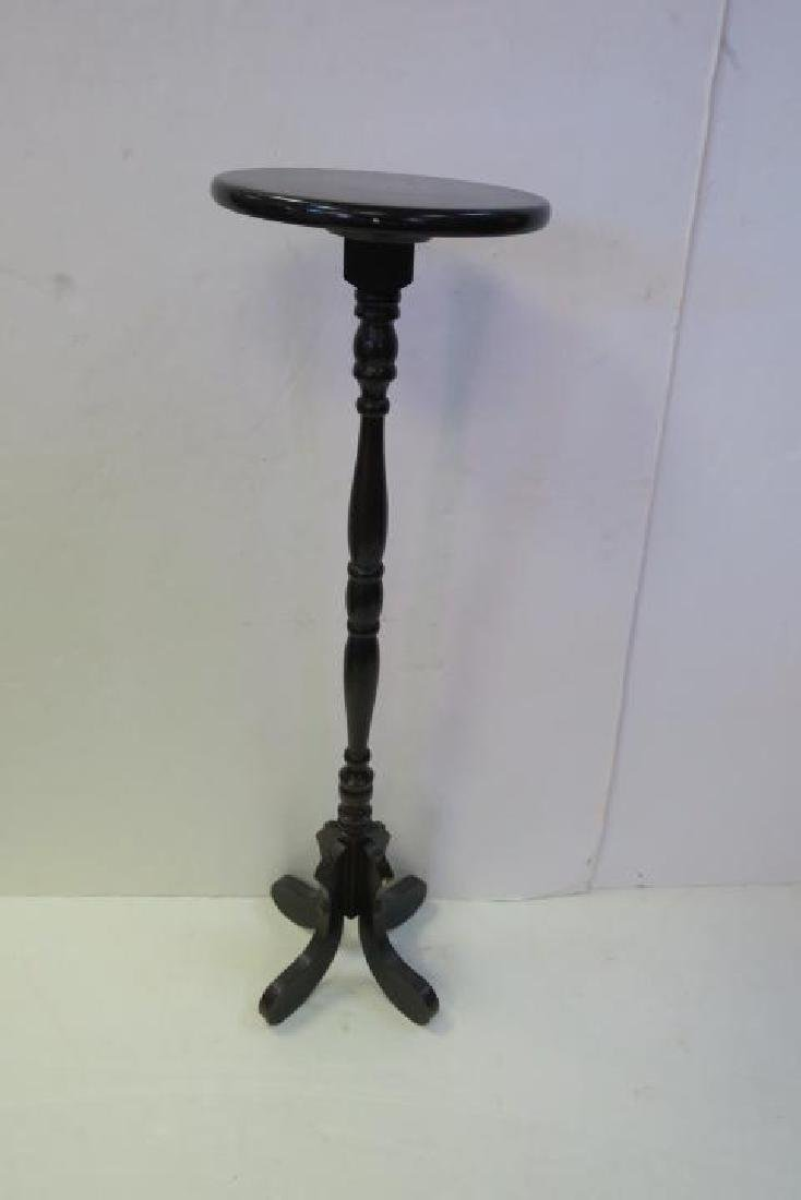 Two 20th Century Plant Mahogany Plant Stands: - 3
