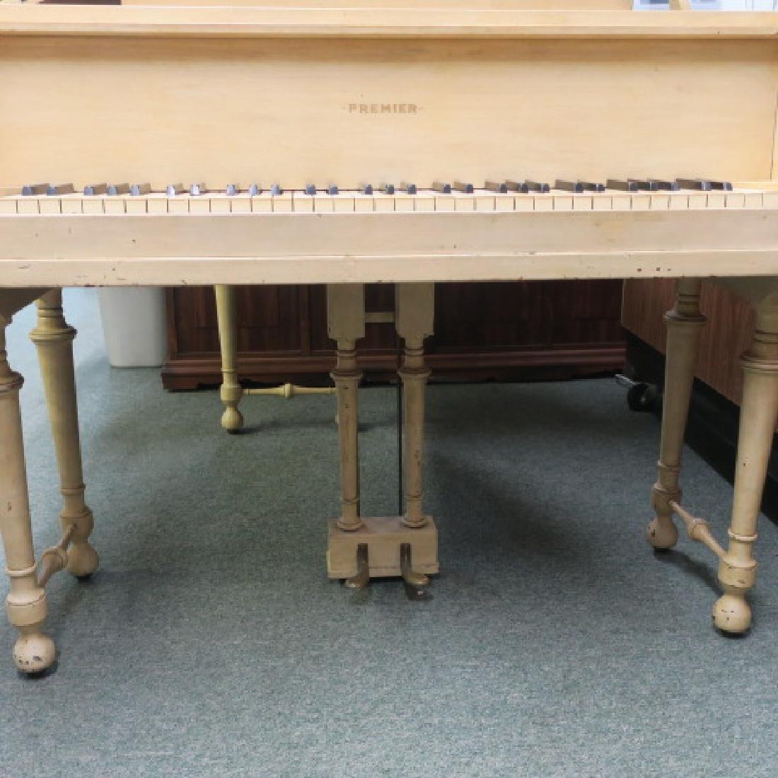 Rare PREMIER PIANO CORP Petite Parlor Grand Piano: - 2