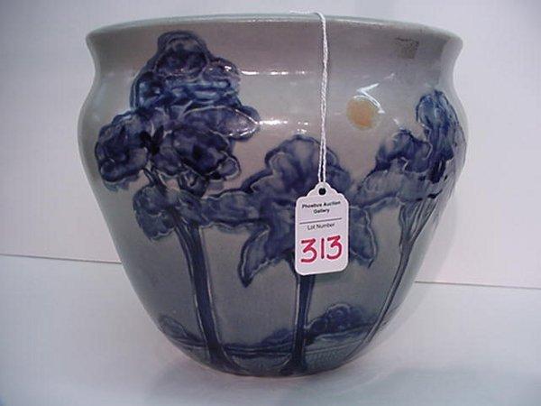 "313: Weller Birdimal 9"" Die Impressed Urn: Fr"