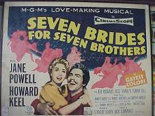 436: Movie Poster, Seven Brides/Seven Brother