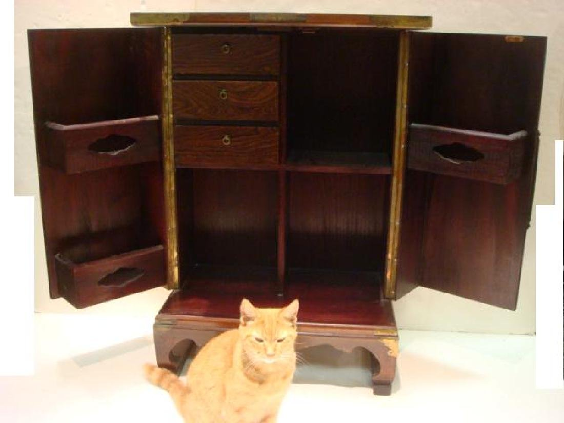 Asian Cabinet with Swingout Doors: