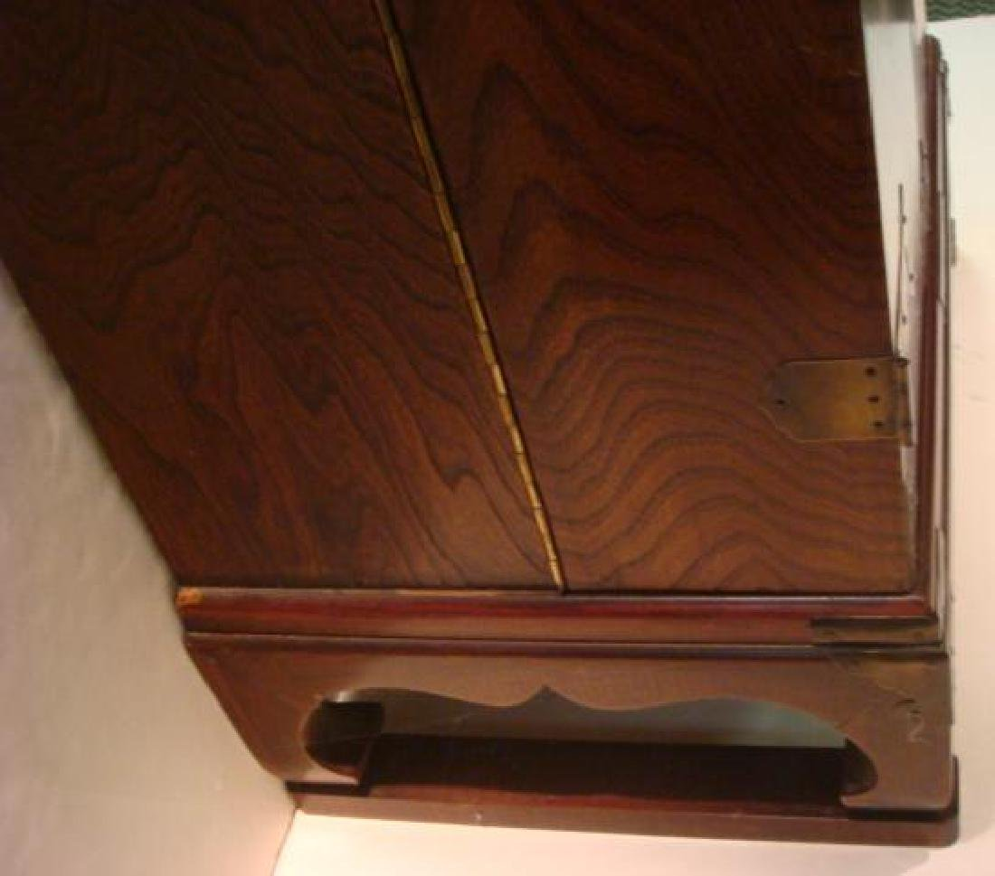 Asian Cabinet with Swingout Doors: - 4