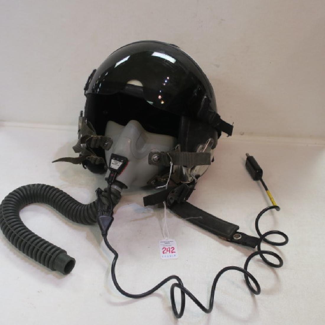 US NAVY Jet Fighter Pilots RED BONE Helmet: