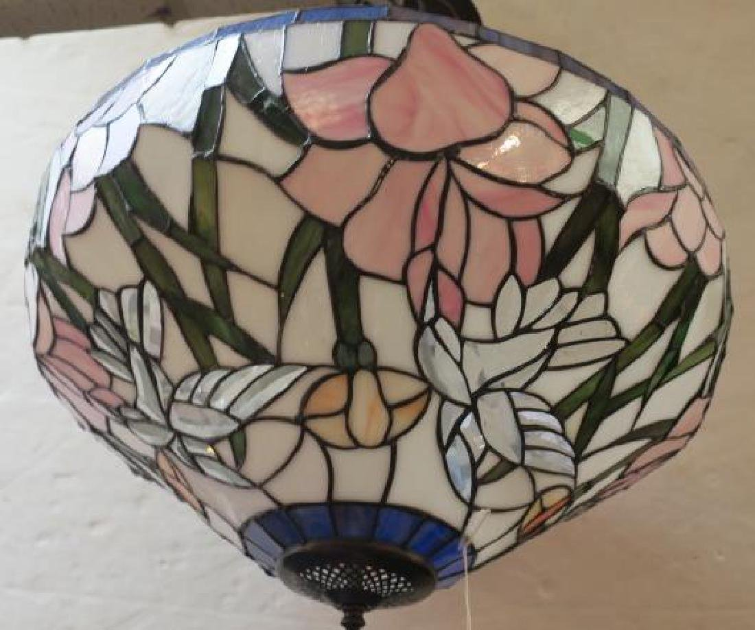 Leaded Glass Tiffany Style Floral Shade: