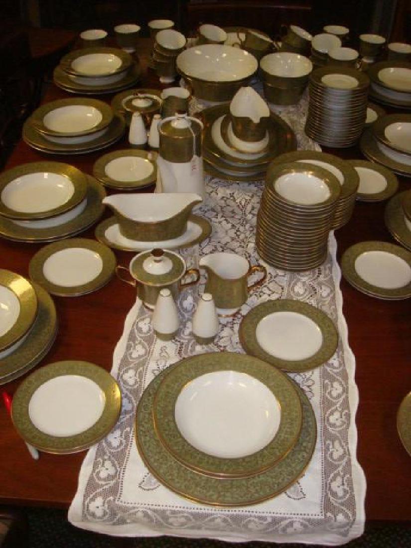 SANGO China Versailles Pattern Dinnerware, 157 PC: