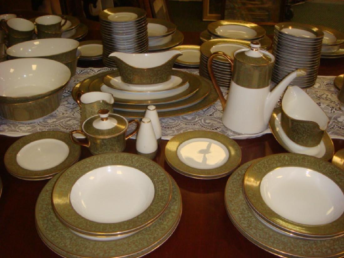 SANGO China Versailles Pattern Dinnerware, 157 PC: - 4