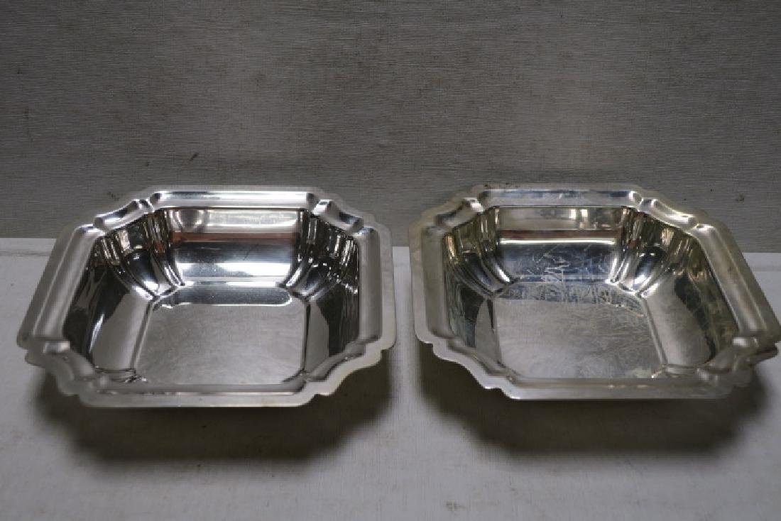 Two Pair of Sterling Silver Bowls: - 2