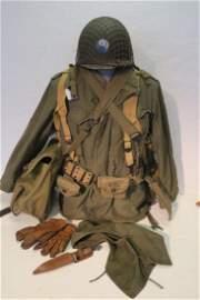 29th Div. OMAHA BEACH WWII Combat Uniform: