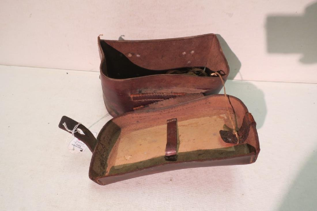 German WW II Leather Machine Gun Ammunition Pouch