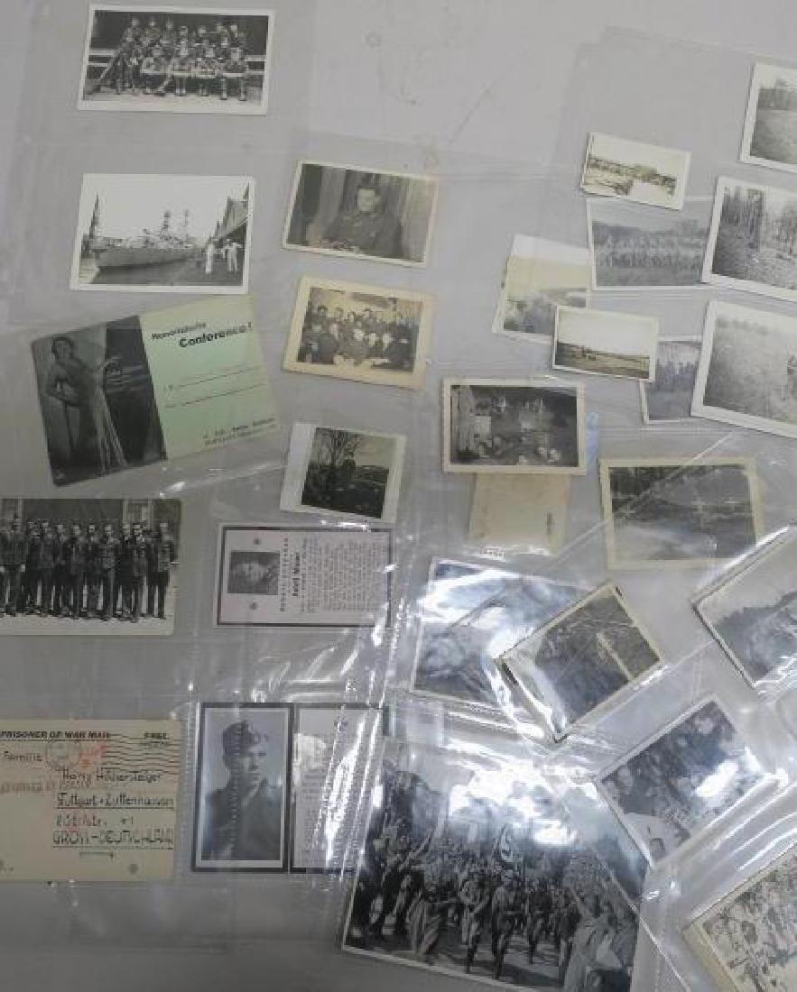 EPHEMERA German Army WW II Photos and Paper: