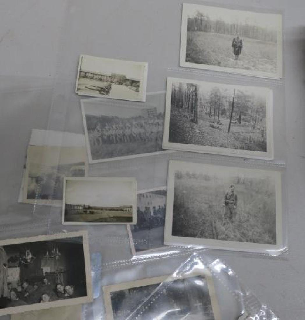 EPHEMERA German Army WW II Photos and Paper: - 3