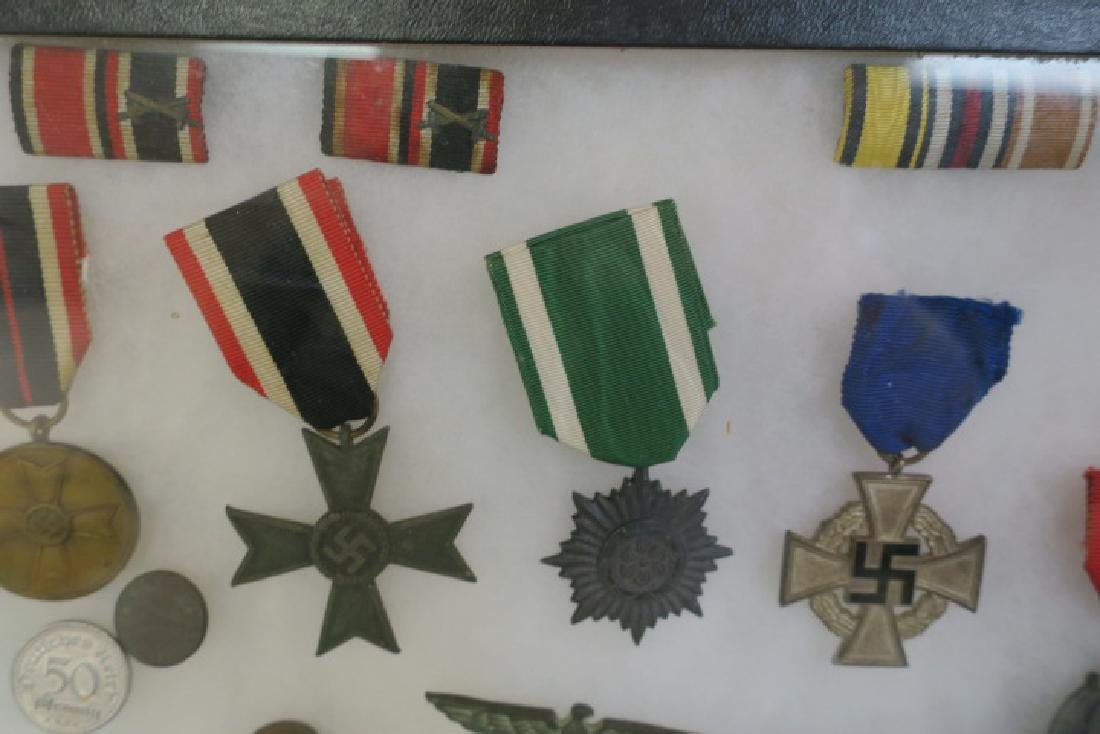 Collection of WW II German Medals and Awards: - 5