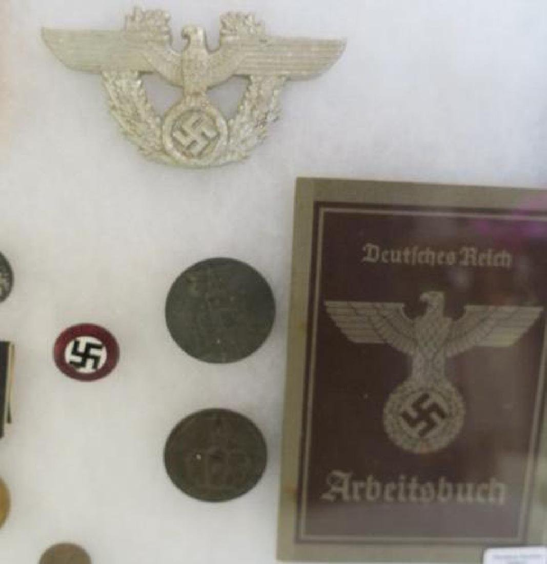 Collection of WW II German Medals and Awards: - 3