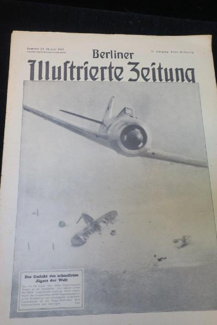 Two Copies of BERLINER ILLUSTRIRTE ZEITUNG Newspaper: - 4