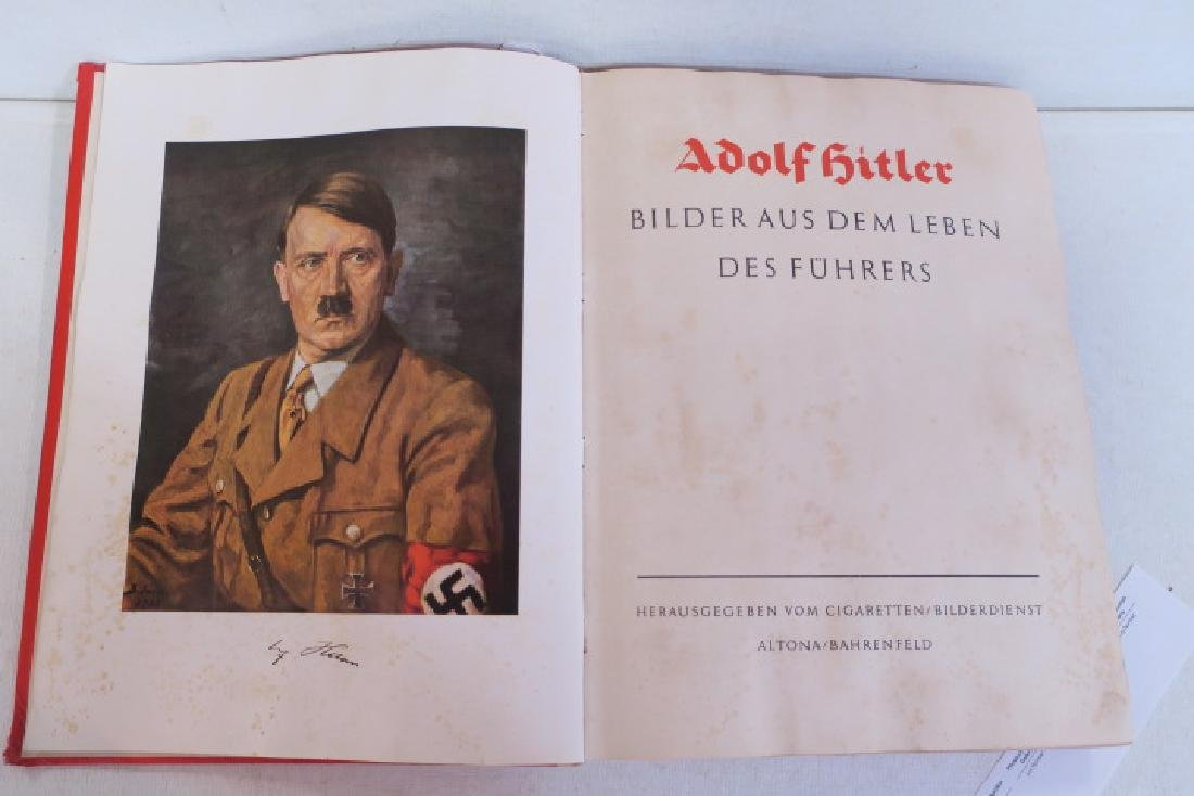 ADOLF HITLER Tribute Book, Herman Goring, 1936: