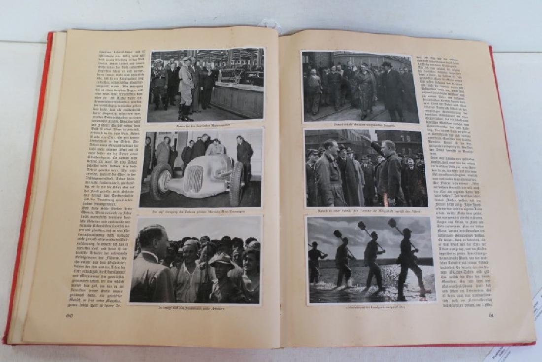 ADOLF HITLER Tribute Book, Herman Goring, 1936: - 3