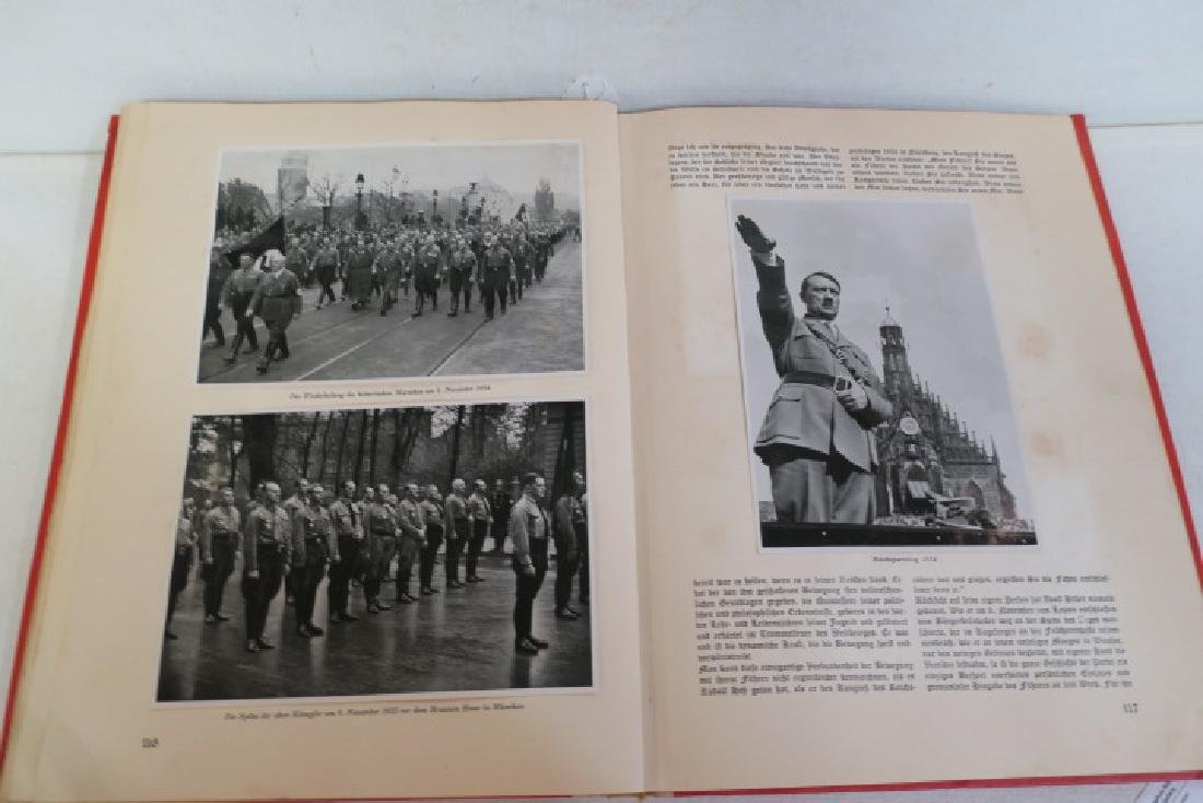 ADOLF HITLER Tribute Book, Herman Goring, 1936: - 5