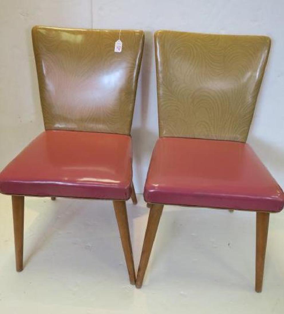 MEIER & POHLMANN Retro Dining Chairs: