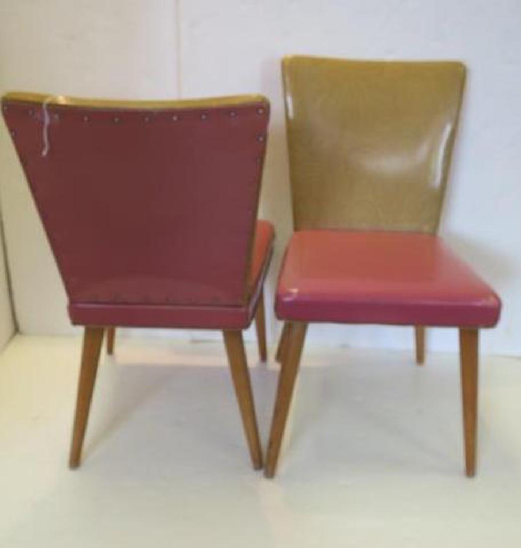 MEIER & POHLMANN Retro Dining Chairs: - 2