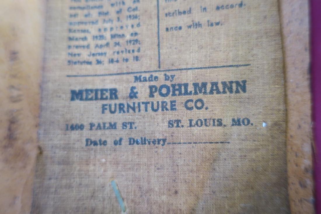 MEIER & POHLMANN Retro Dining Chairs: - 3