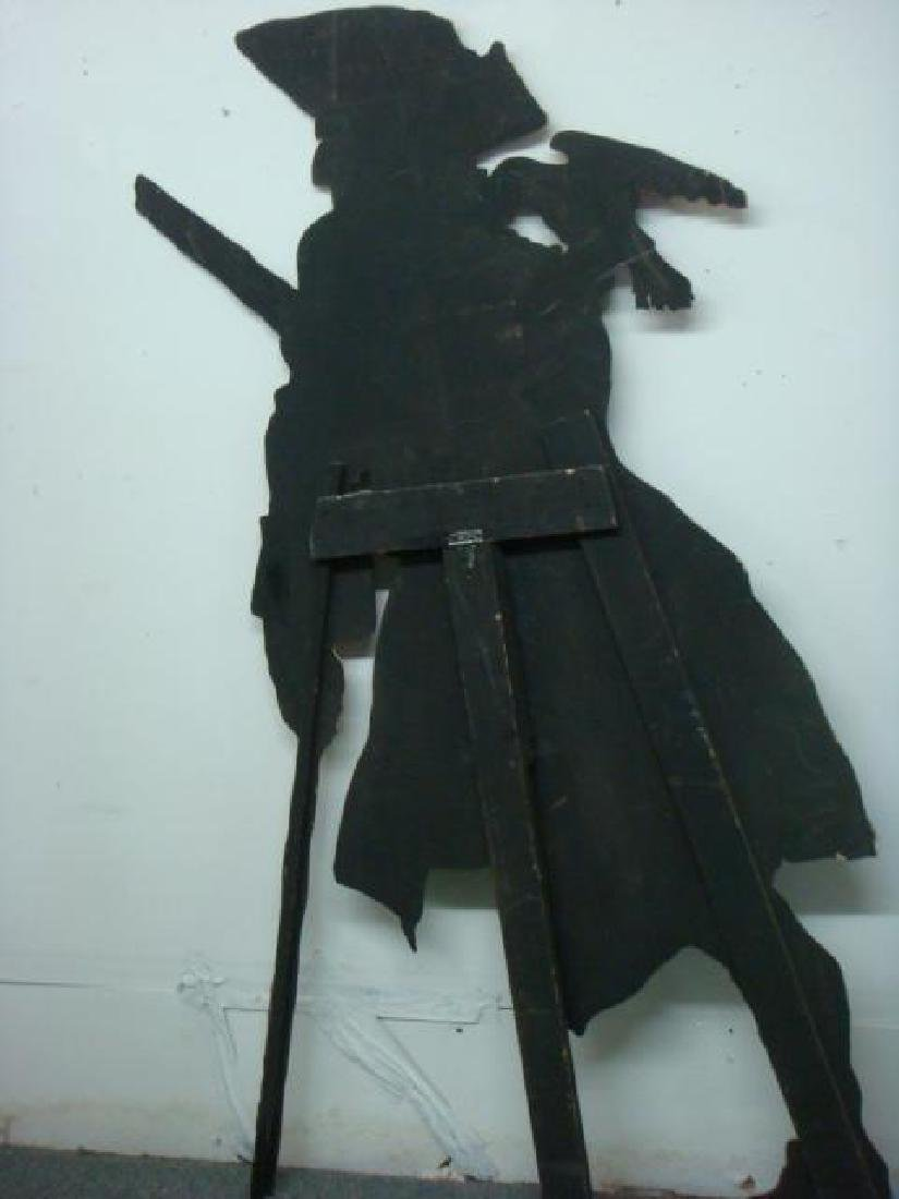 Cut Out Plywood Party Figure of Pirate: - 5