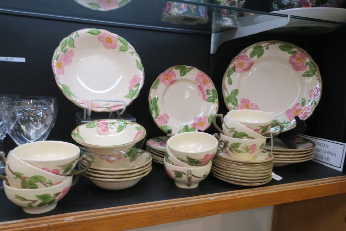 FRANCISCAN Desert Rose China, 37 Total Pieces: