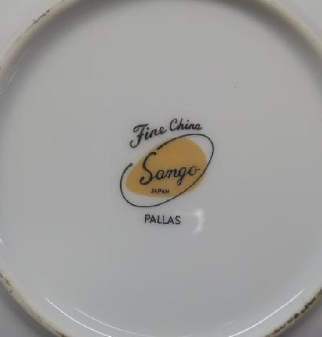 SANGO CHINA, PALLAS Dinnerware, 92 Pieces: - 3