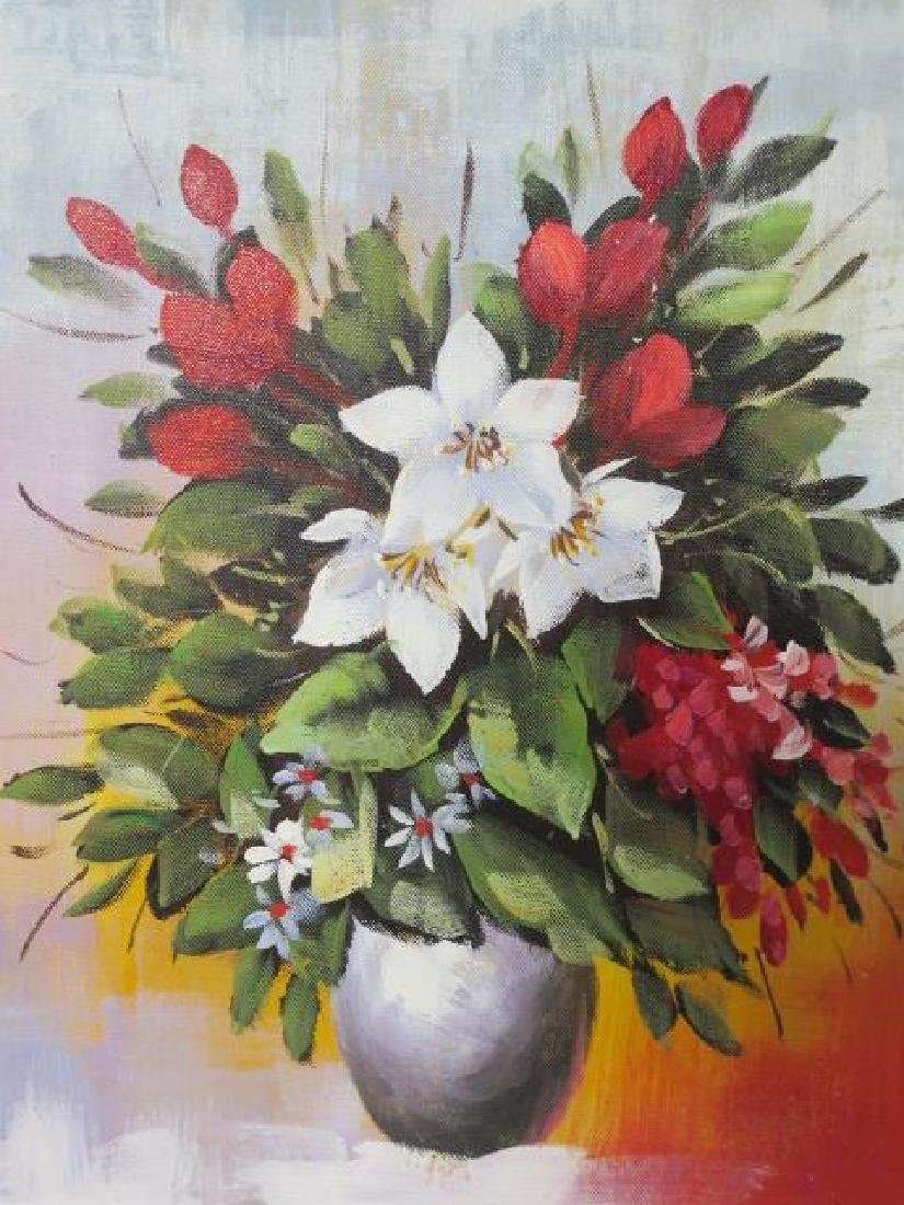 Chinese Chen Lewis (Chentai-Yu) Floral Still Life: - 2