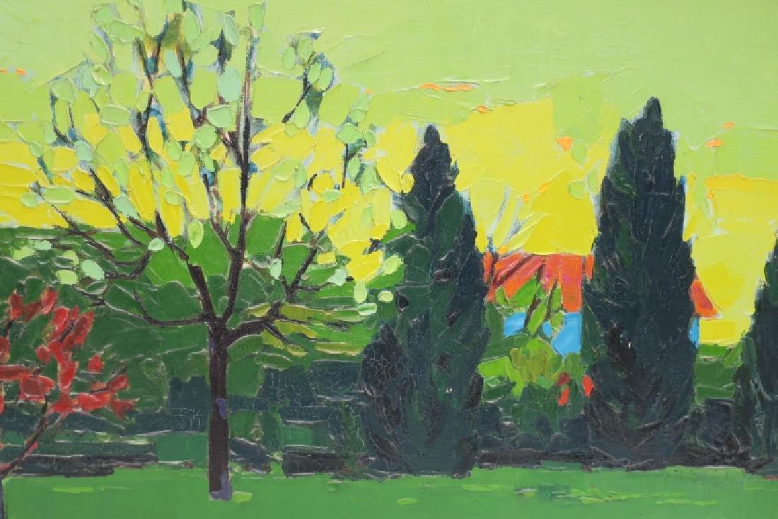 ROBERT E KLEIN Oil Landscape on Canvas: - 2