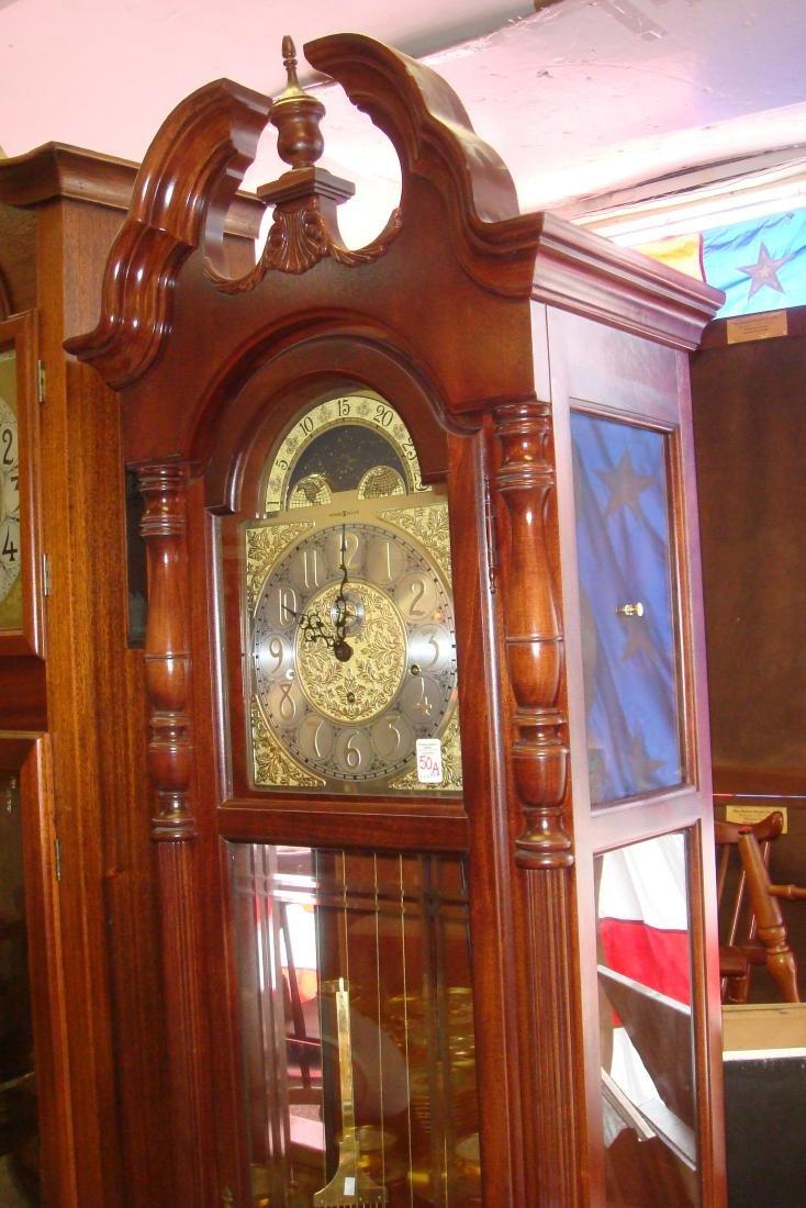 HOWARD MILLER Eight Day Strike & Chime Tall Case Clock