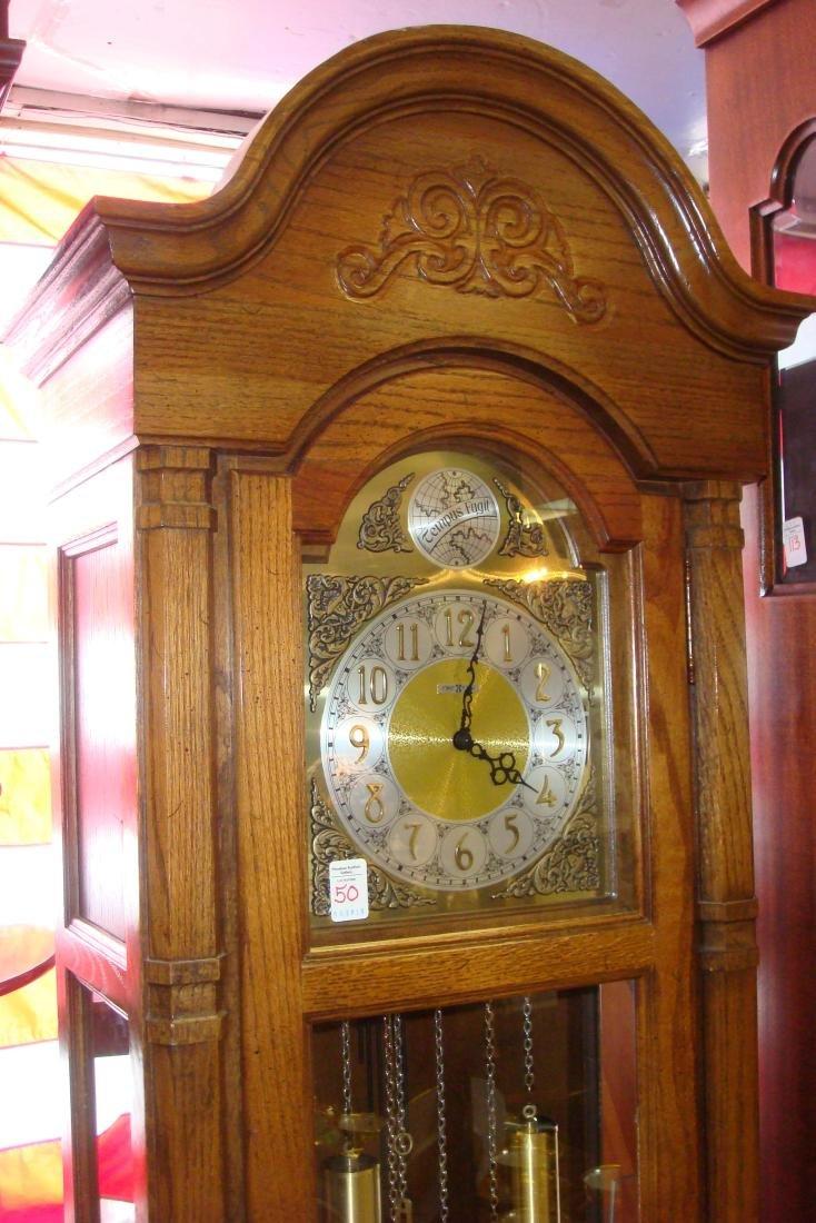 HOWARD MILLER Long Case Clock with Pendulum, Weights: