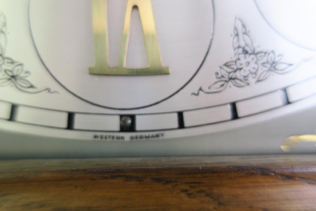 Western Germany Oak Tall Case Weight Driven Clock: - 5